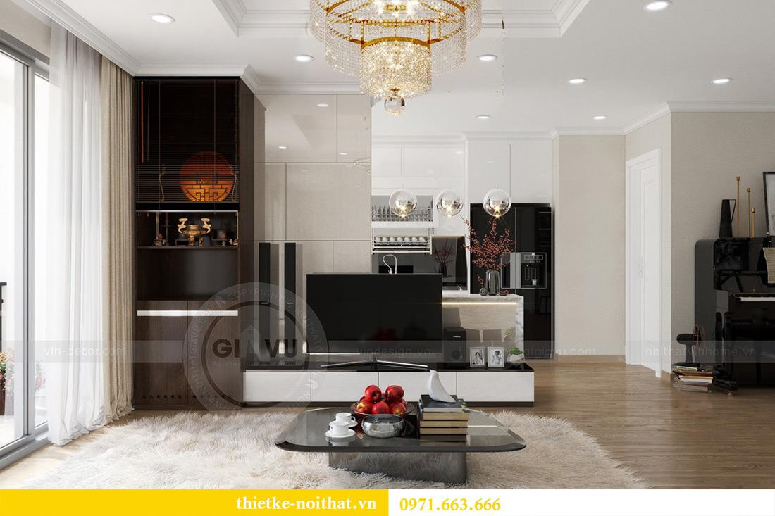 Thiết kế thi công nội thất chung cư Park Hill 12 căn 07 nhà anh Hùng 2