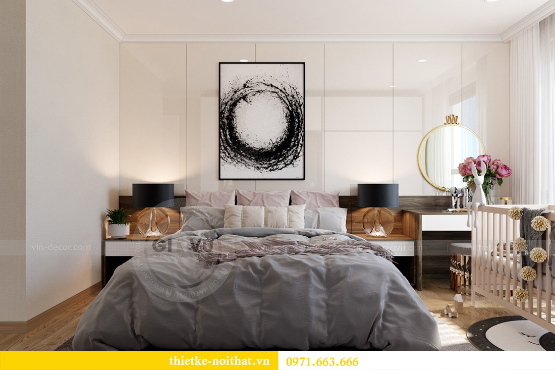 Thiết kế thi công nội thất chung cư Park Hill 12 căn 07 nhà anh Hùng 6
