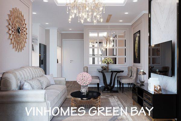 Mẫu Thiết Kế Nội Thất Chung Cư Green Bay Tòa G1 Căn 03 – Chị Trang