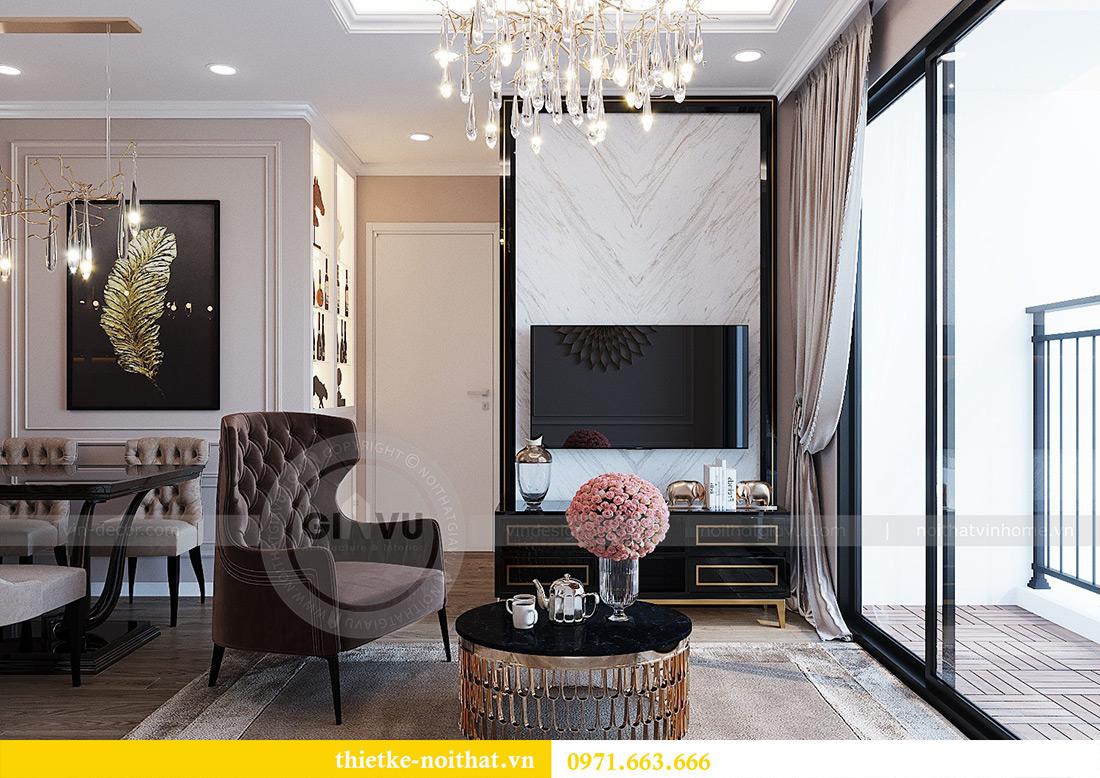 Mẫu thiết kế nội thất chung cư Green Bay tòa G1 căn 03 - chị Trang 2