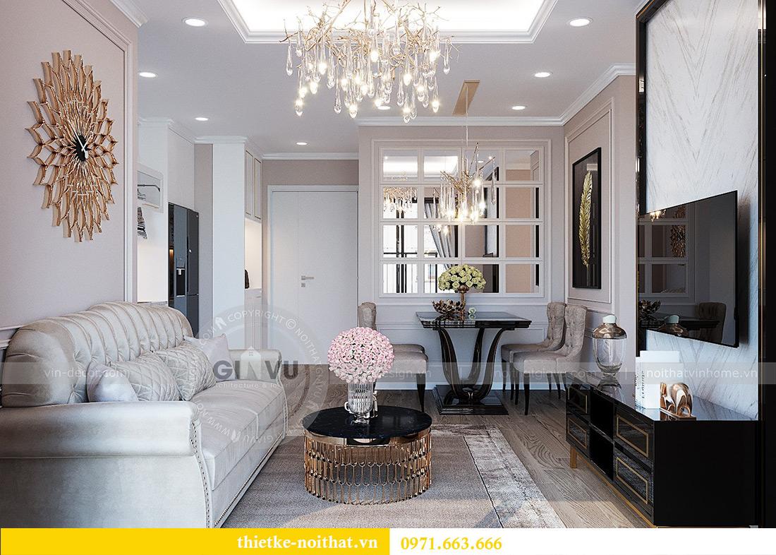 Mẫu thiết kế nội thất chung cư Green Bay tòa G1 căn 03 - chị Trang 3
