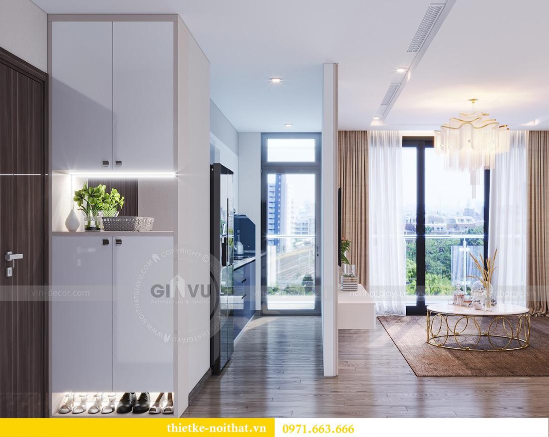 Thiết kế nội thất chung cư Metropolis tòa M3 10 nhà cô Liễu 1