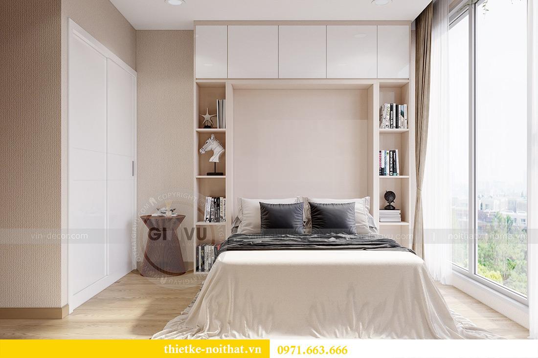 Thiết kế nội thất chung cư Metropolis tòa M3 10 nhà cô Liễu 12