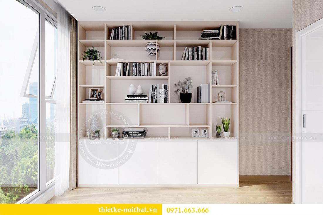 Thiết kế nội thất chung cư Metropolis tòa M3 10 nhà cô Liễu 13