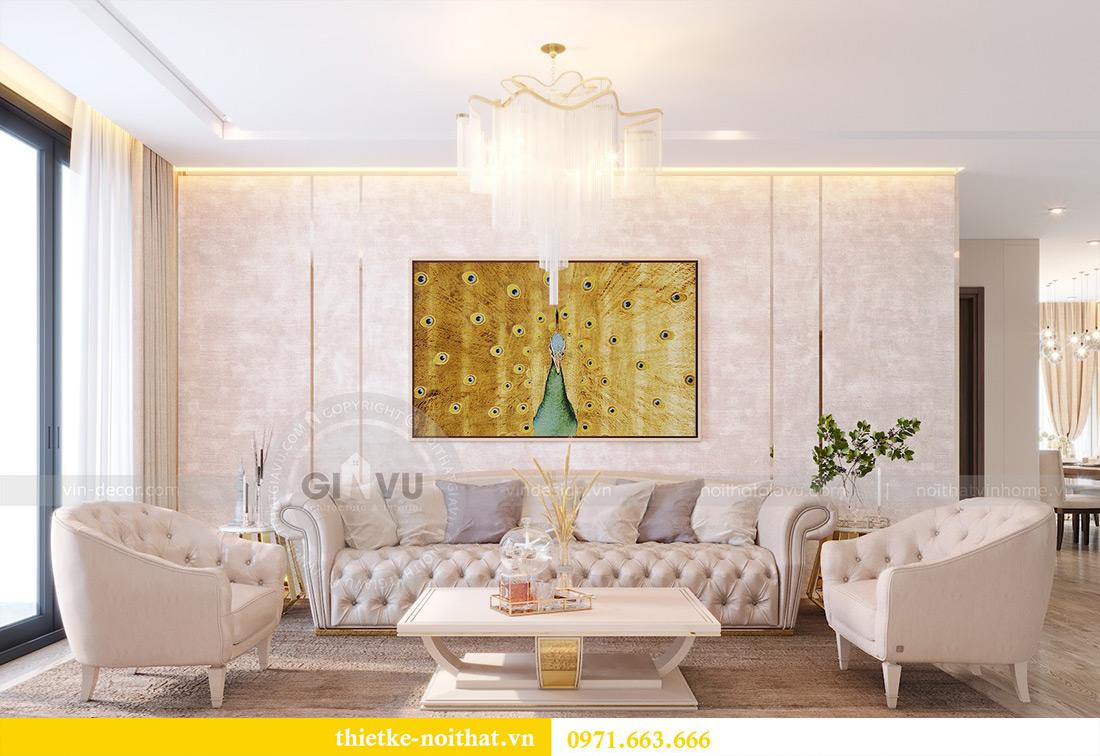 Thiết kế nội thất chung cư Metropolis tòa M3 10 nhà cô Liễu 2