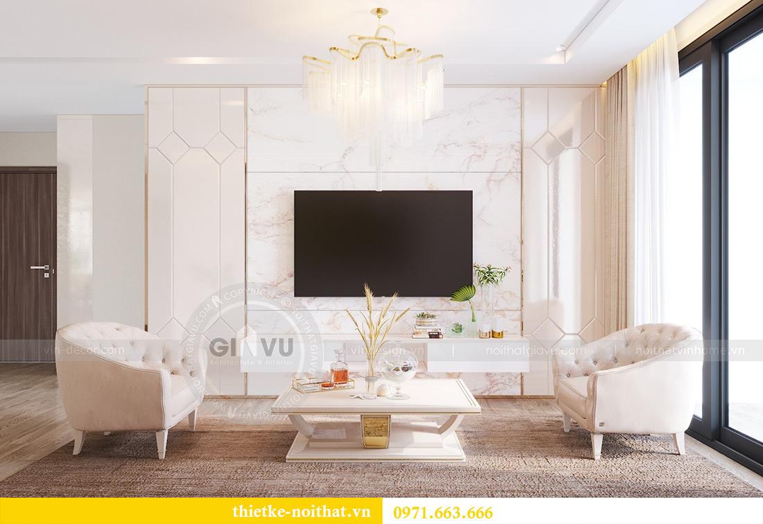 Thiết kế nội thất chung cư Metropolis tòa M3 10 nhà cô Liễu 3
