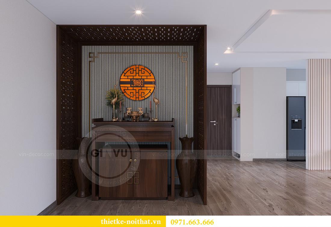 Thiết kế nội thất chung cư Metropolis tòa M3 10 nhà cô Liễu 6