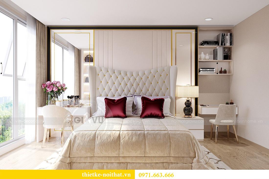 Thiết kế nội thất chung cư Metropolis tòa M3 10 nhà cô Liễu 7