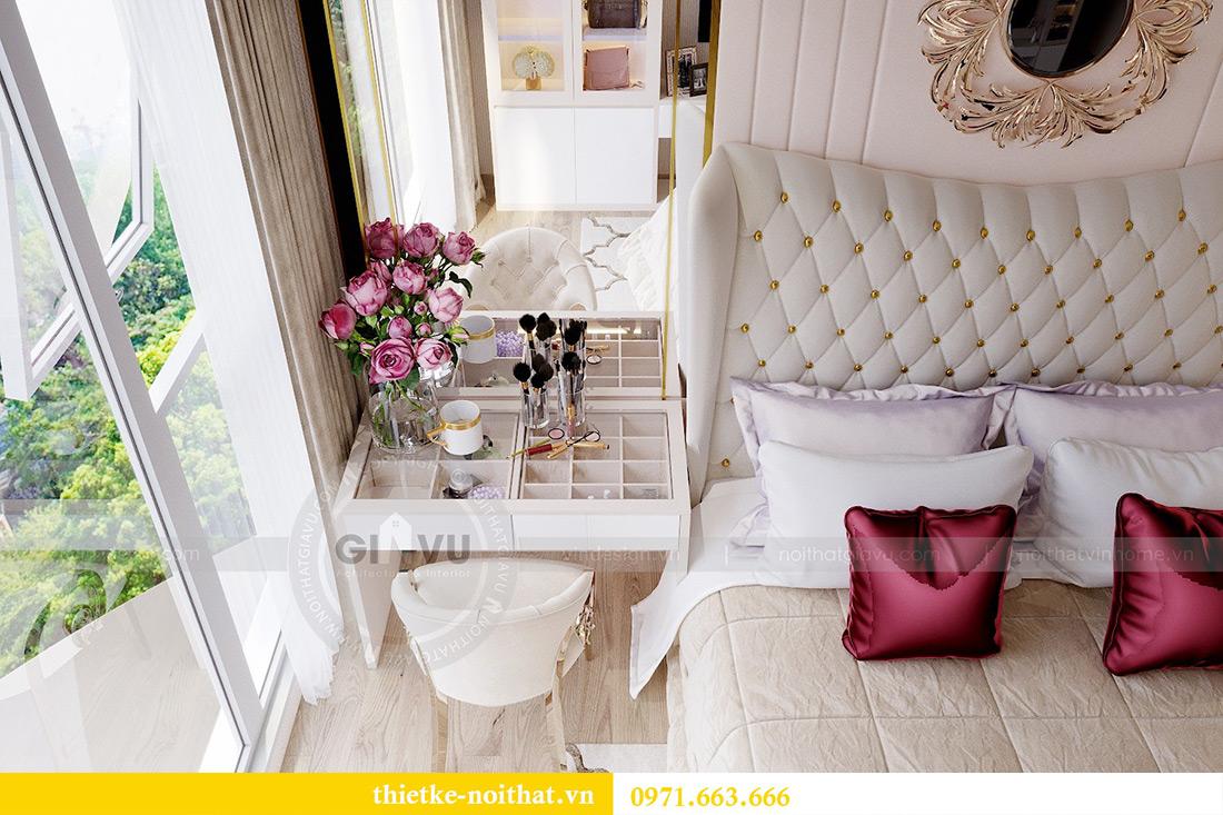 Thiết kế nội thất chung cư Metropolis tòa M3 10 nhà cô Liễu 9