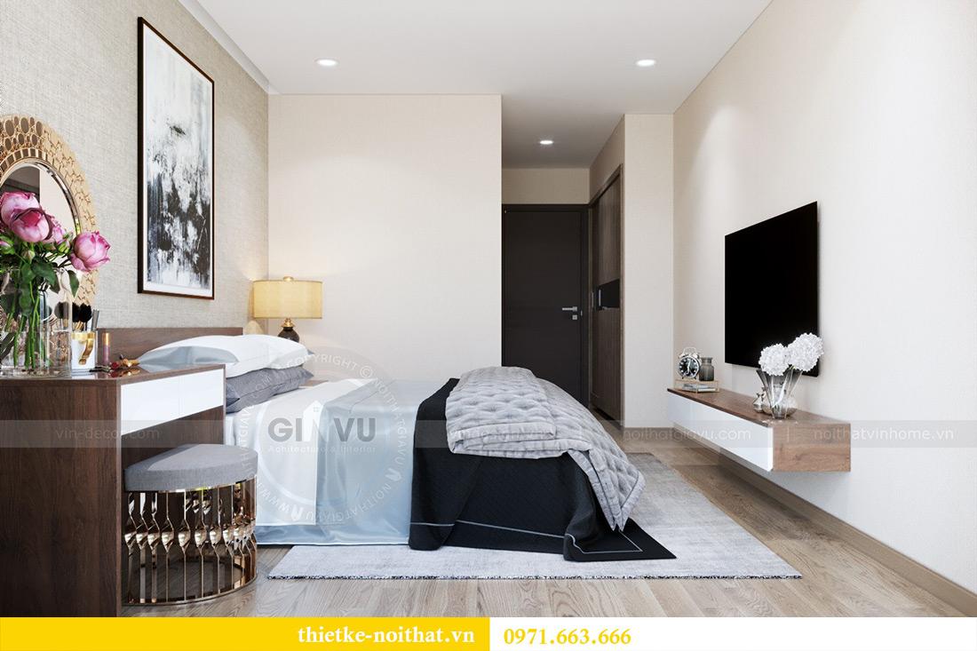 Thiết kế nội thất Vinhomes Metropolis căn 3 ngủ nhà chị Tảo 6