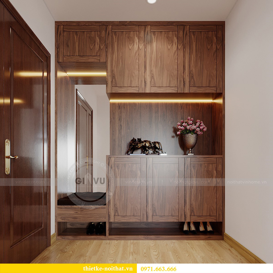Thiết kế nội thất Vinhomes Metropolis Liễu Giai tòa M2 căn 11 - anh Thắng 1