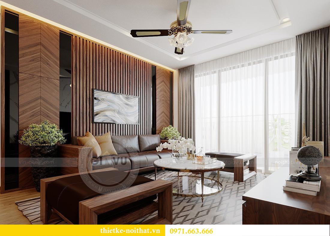 Thiết kế nội thất Vinhomes Metropolis Liễu Giai tòa M2 căn 11 - anh Thắng 6