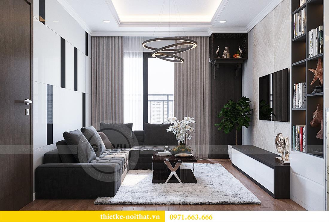 Thiết kế nội thất Vinhomes Metropolis Liễu Giai tòa M3 căn 07 - chị Thương 4