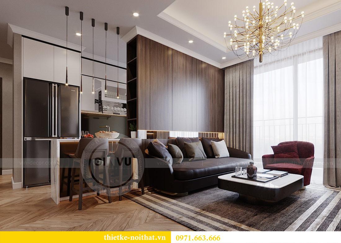 Mẫu thiết kế nội thất chung cư Vinhomes Green Bay Mễ Trì 1