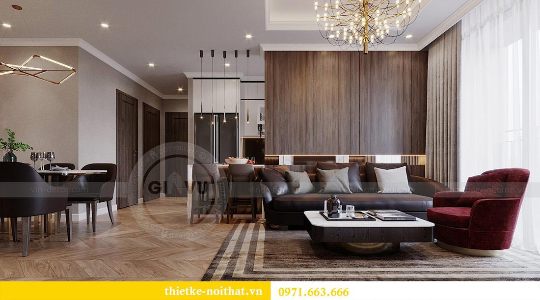 Mẫu thiết kế nội thất chung cư Vinhomes Green Bay Mễ Trì 3