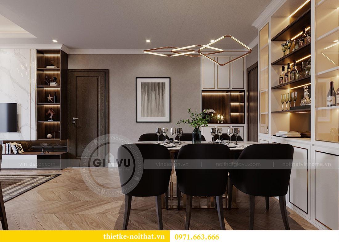 Mẫu thiết kế nội thất chung cư Vinhomes Green Bay Mễ Trì 4