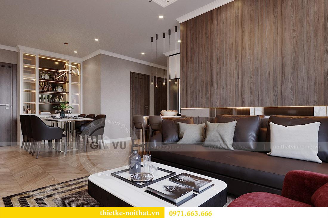 Mẫu thiết kế nội thất chung cư Vinhomes Green Bay Mễ Trì 5