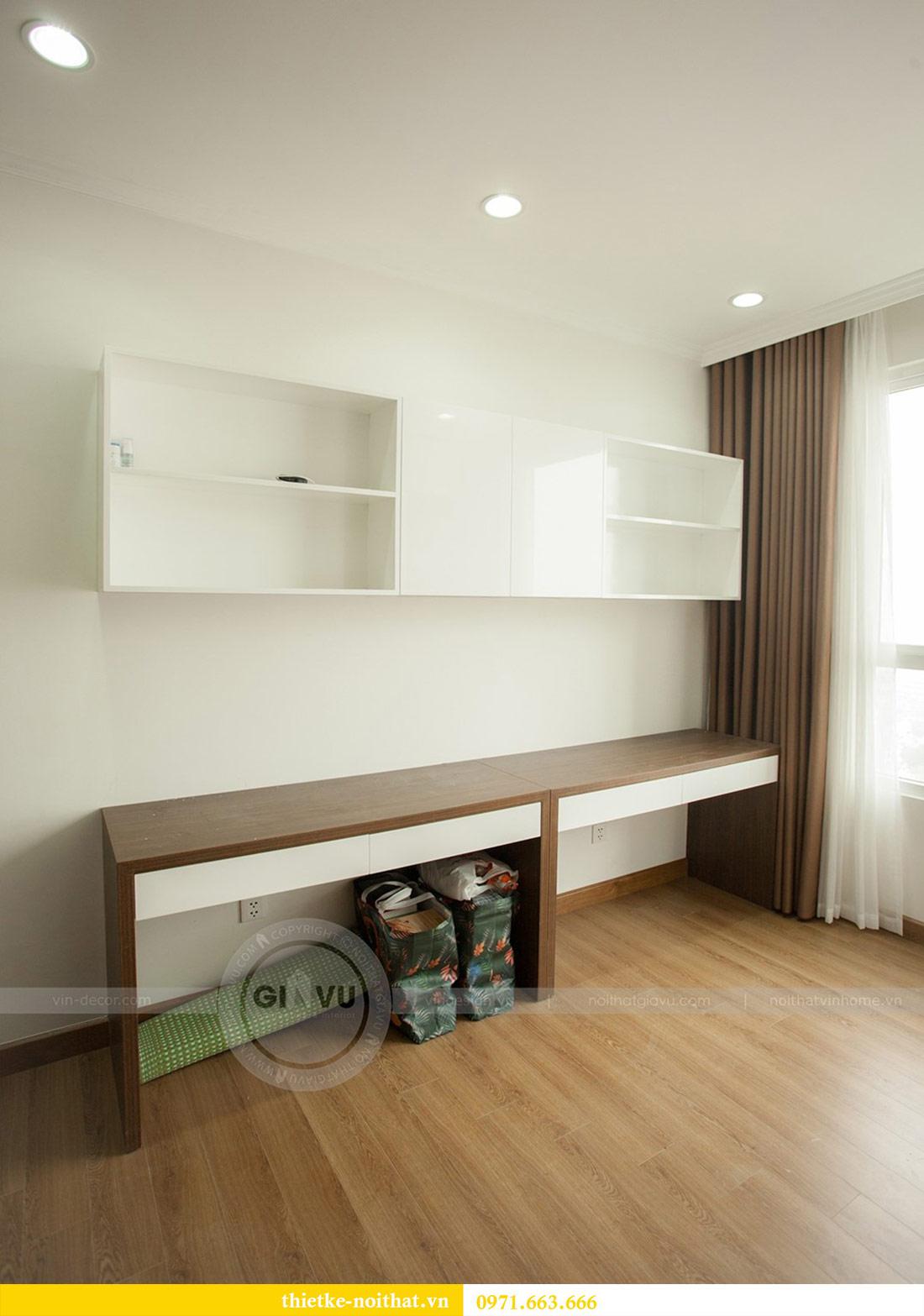 Thi công nội thất chung cư Seasons Avenue tòa S3 căn 01 - anh Bách 12