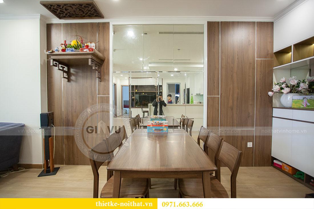 Thi công nội thất chung cư Vinhomes Gardenia tòa A2 căn 03 - anh Hưởng 2