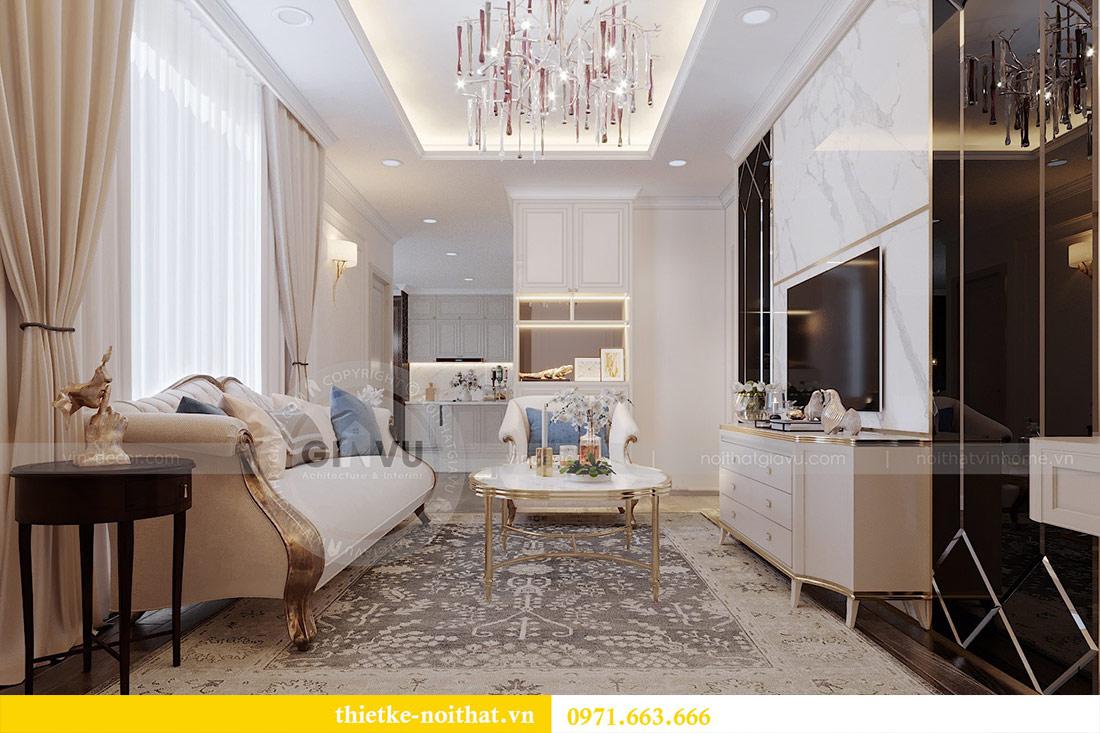 Thiết kế căn hộ Vinhomes Green Bay tòa G1 căn đập thông - chị Thu 3