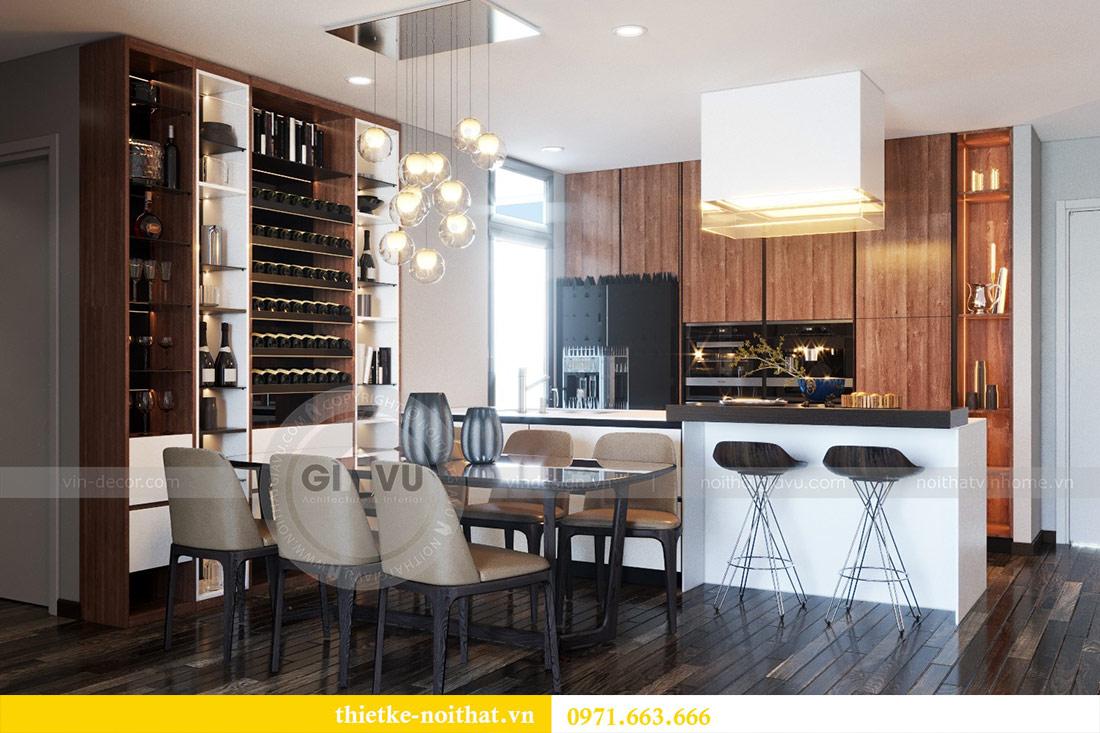 Thiết kế nội thất căn hộ Sky Lake tòa S2 căn 06 - anh Nam 1