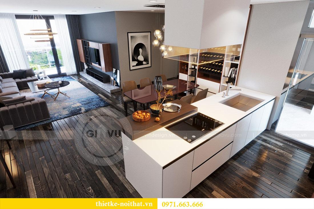 Thiết kế nội thất căn hộ Sky Lake tòa S2 căn 06 - anh Nam 2
