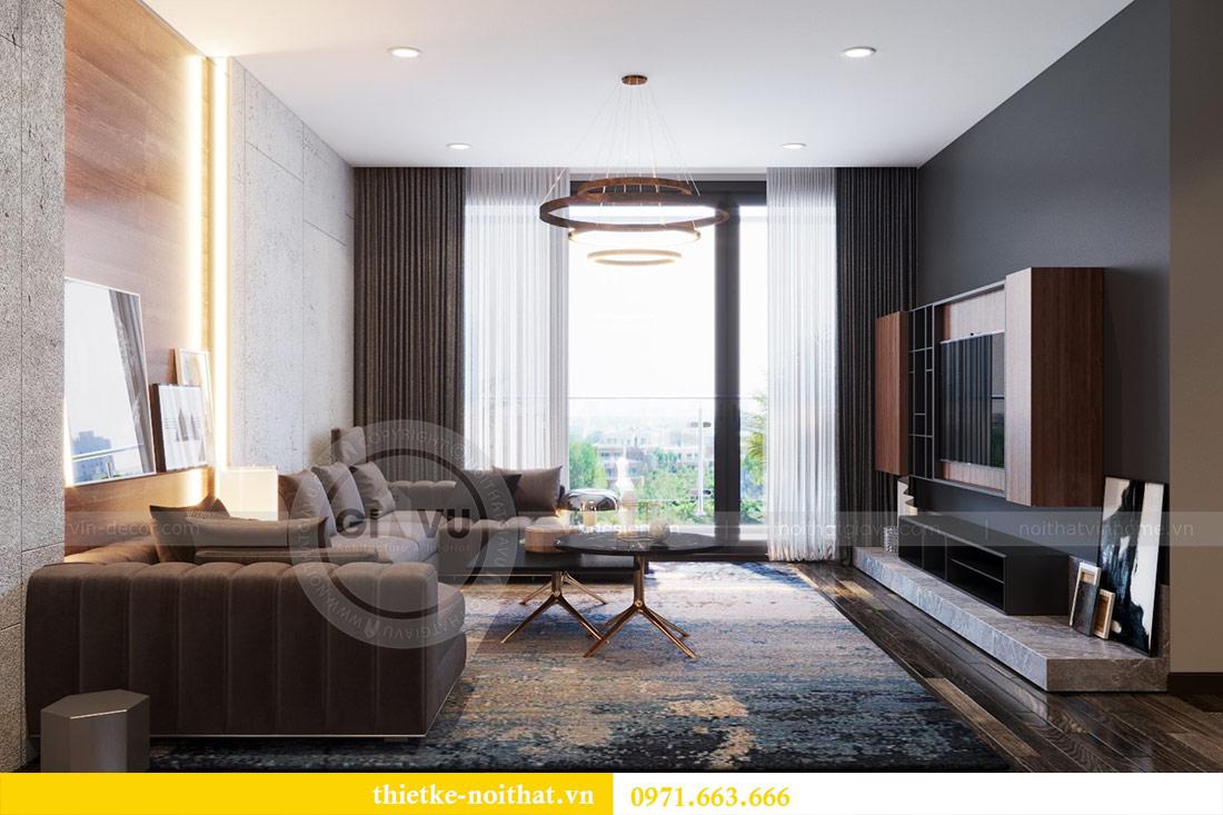 Thiết kế nội thất căn hộ Sky Lake tòa S2 căn 06 - anh Nam 4
