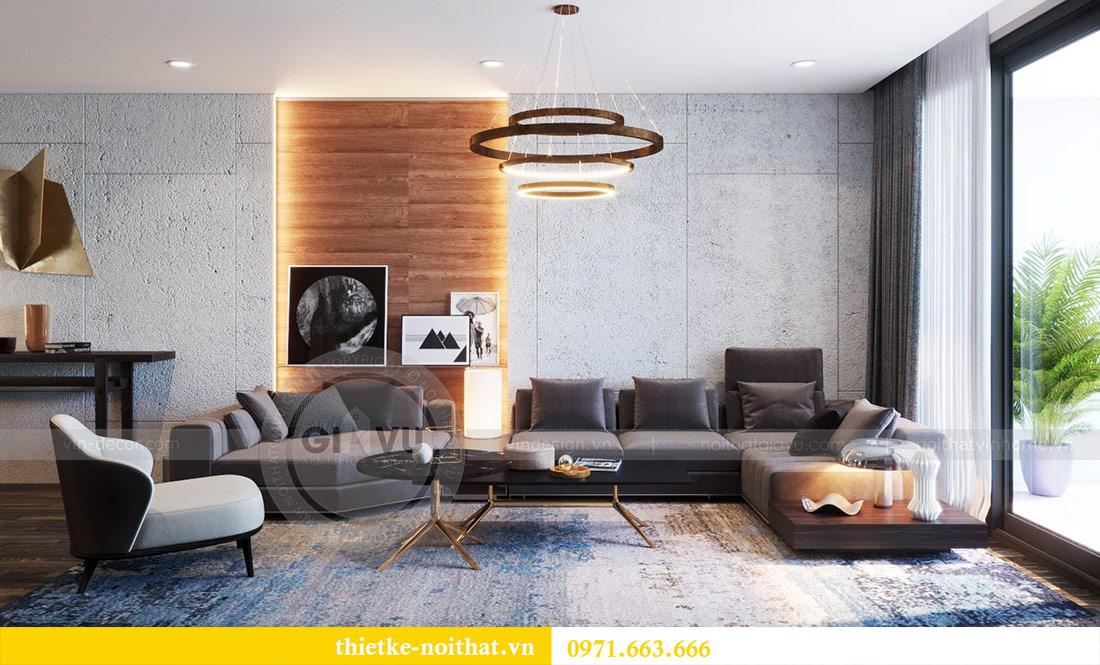 Thiết kế nội thất căn hộ Sky Lake tòa S2 căn 06 - anh Nam 6