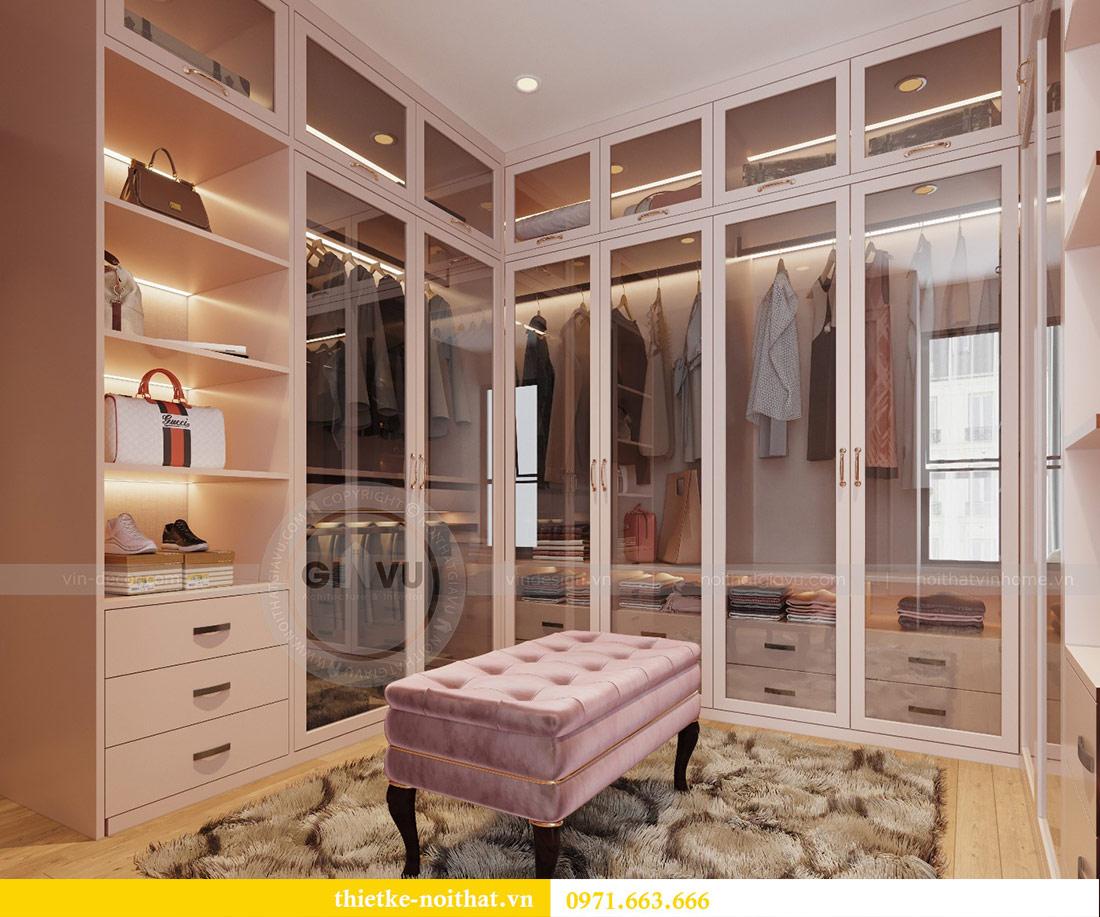 Thiết kế căn hộ chung cư Sun Grand City Lương Yên tòa T2 căn 01 12