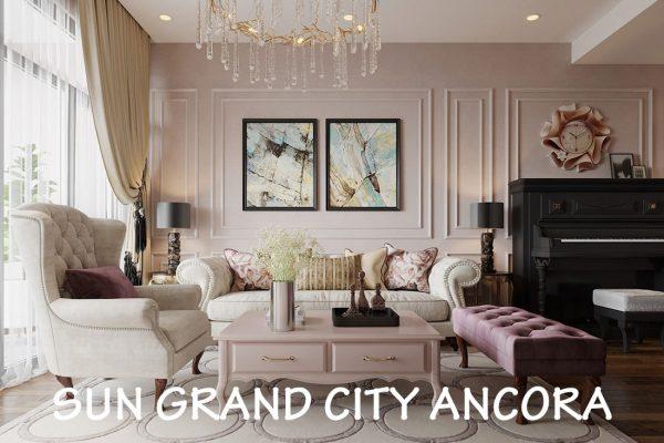 Thiết Kế Căn Hộ Chung Cư Sun Grand City Lương Yên Tòa T2 Căn 01