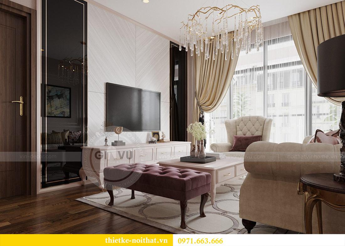 Thiết kế căn hộ chung cư Sun Grand City Lương Yên tòa T2 căn 01 7