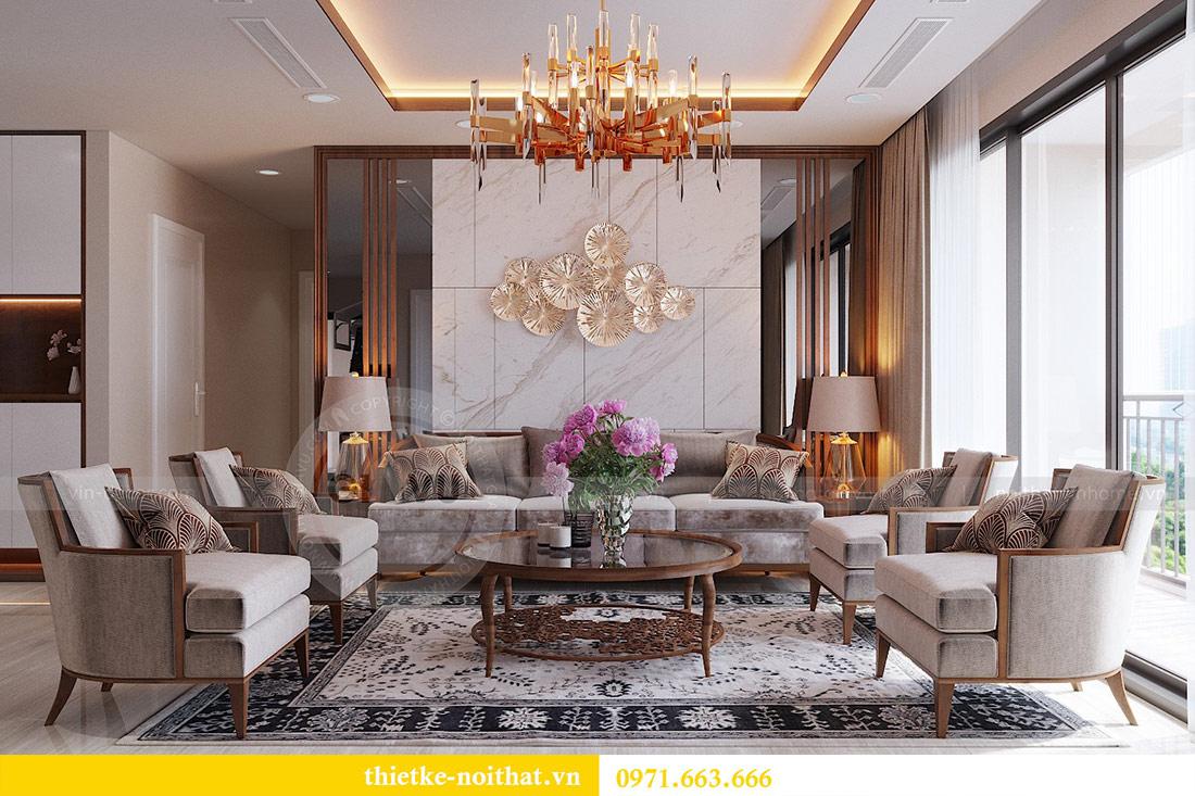 Thiết kế nội thất căn hộ Vinhomes Dcapitale tòa C3-10 chị Hằng 1