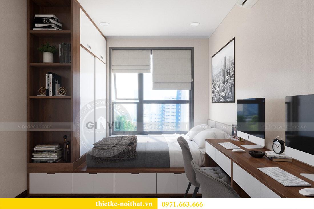 Thiết kế nội thất căn hộ Vinhomes Dcapitale tòa C3-10 chị Hằng 10