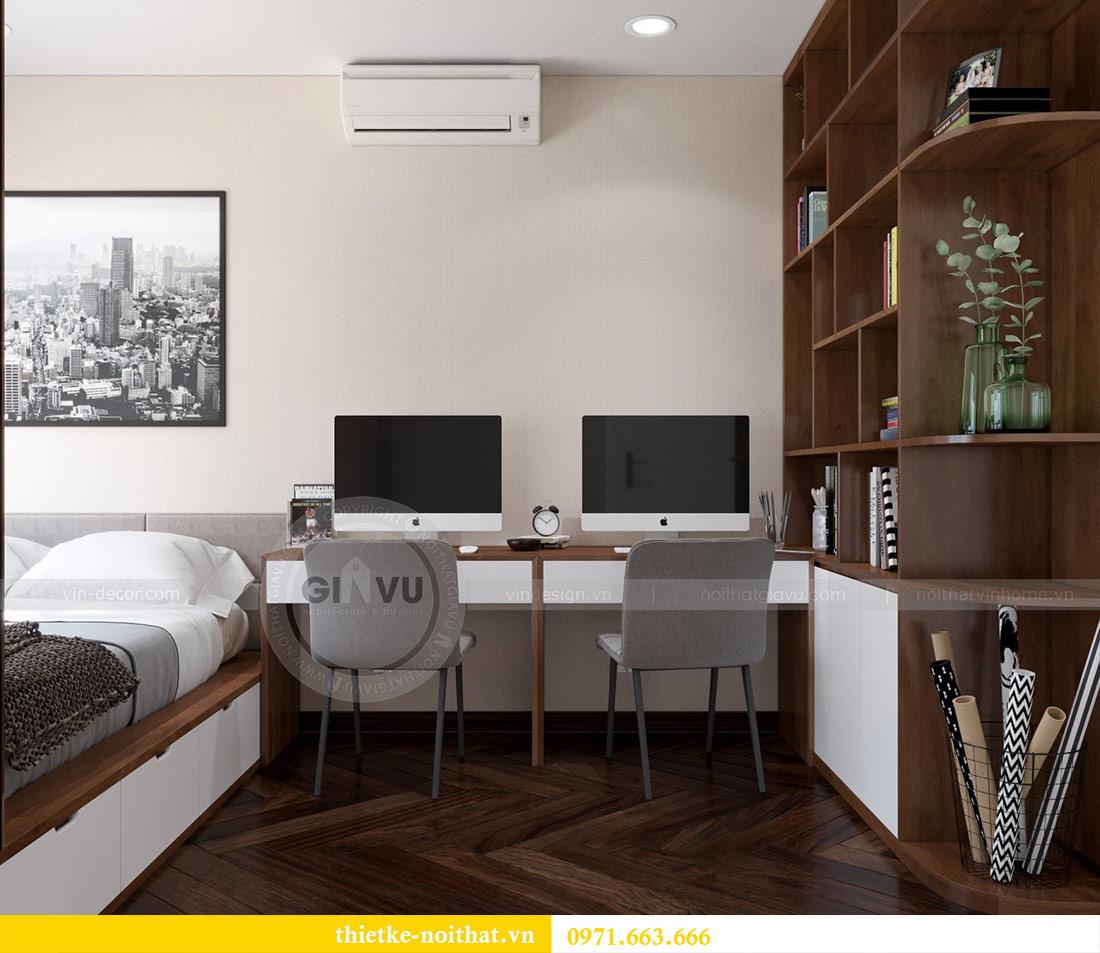 Thiết kế nội thất căn hộ Vinhomes Dcapitale tòa C3-10 chị Hằng 11