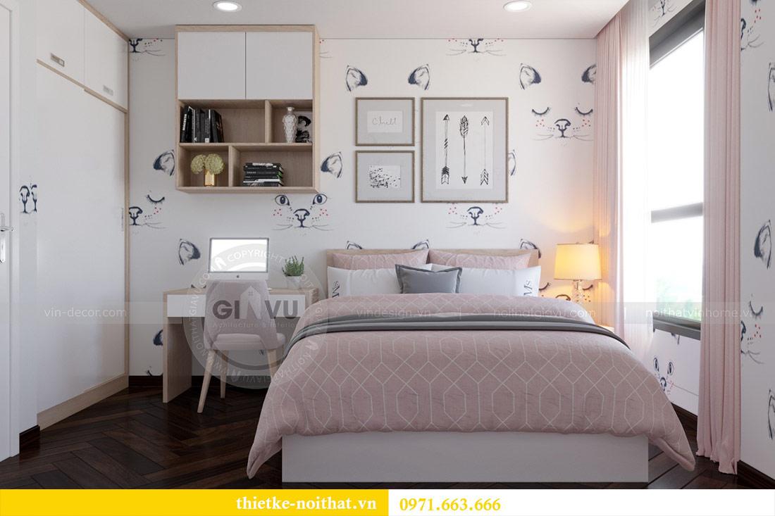 Thiết kế nội thất căn hộ Vinhomes Dcapitale tòa C3-10 chị Hằng 13