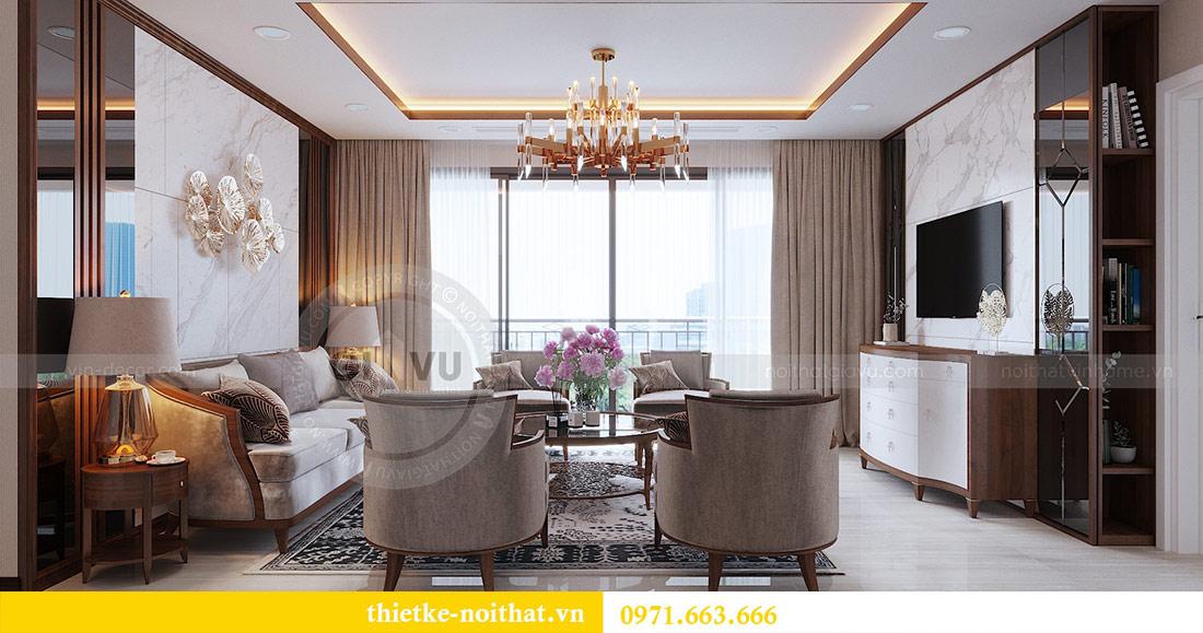 Thiết kế nội thất căn hộ Vinhomes Dcapitale tòa C3-10 chị Hằng 3