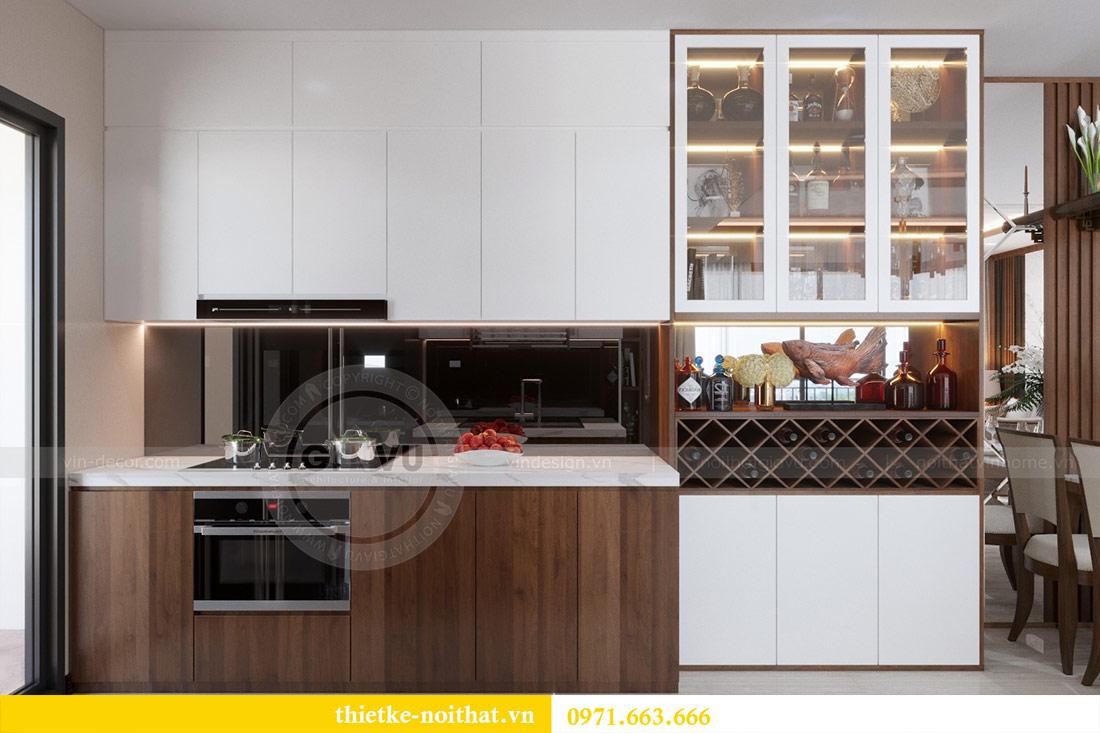 Thiết kế nội thất căn hộ Vinhomes Dcapitale tòa C3-10 chị Hằng 5