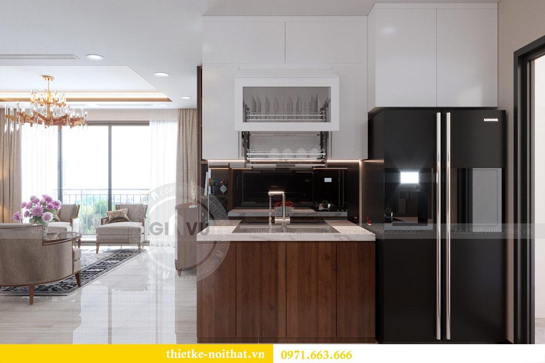 Thiết kế nội thất căn hộ Vinhomes Dcapitale tòa C3-10 chị Hằng 6