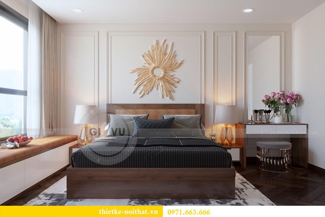 Thiết kế nội thất căn hộ Vinhomes Dcapitale tòa C3-10 chị Hằng 7