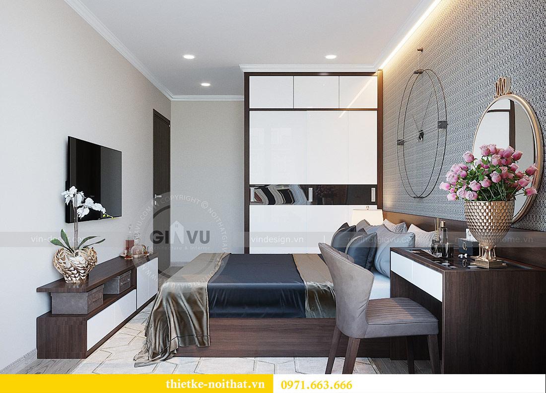 Thiết kế nội thất chung cư Dcapitale tòa C1 căn 01 - anh Nam 11