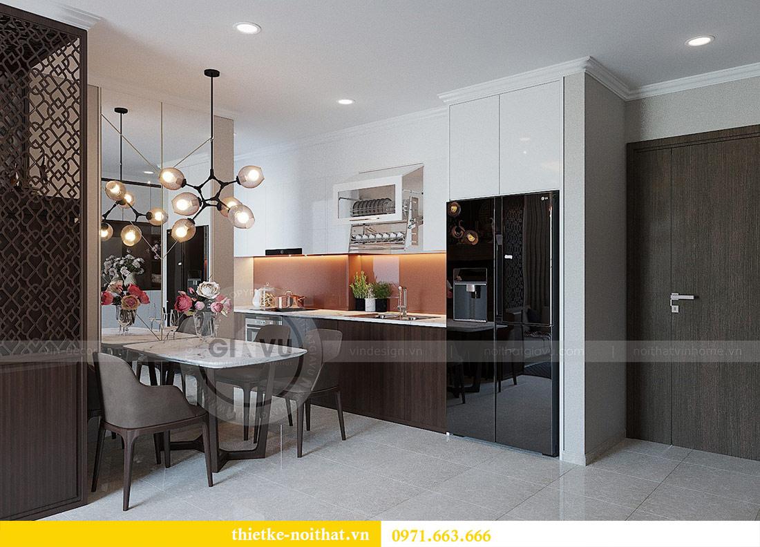 Thiết kế nội thất chung cư Dcapitale tòa C1 căn 01 - anh Nam 2