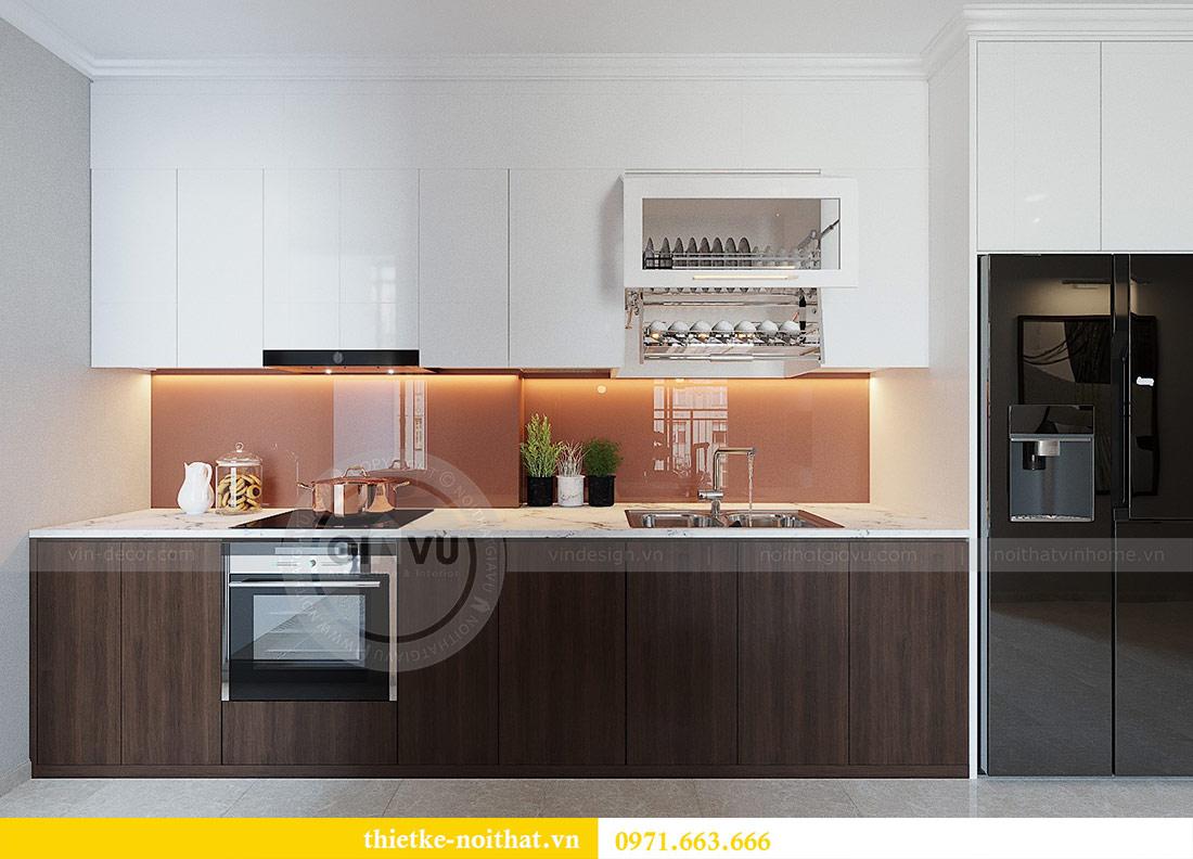 Thiết kế nội thất chung cư Dcapitale tòa C1 căn 01 - anh Nam 3