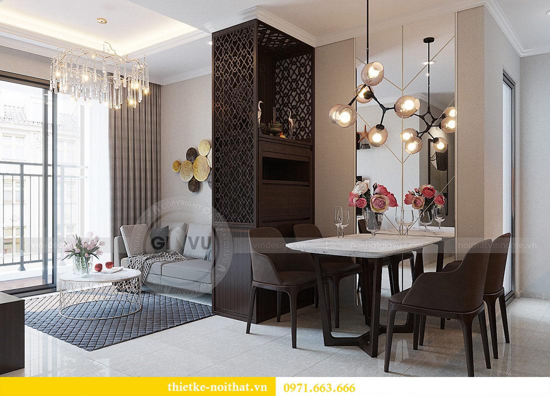 Thiết kế nội thất chung cư Dcapitale tòa C1 căn 01 - anh Nam 4