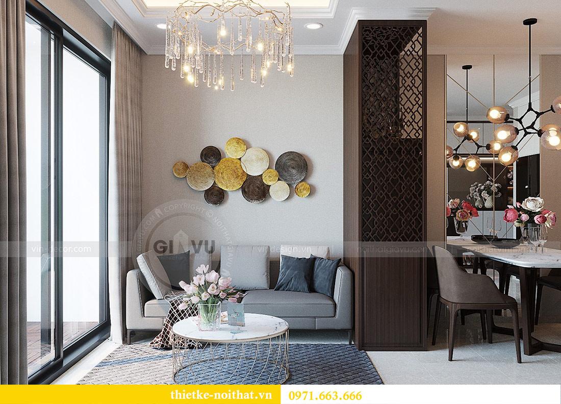 Thiết kế nội thất chung cư Dcapitale tòa C1 căn 01 - anh Nam 5