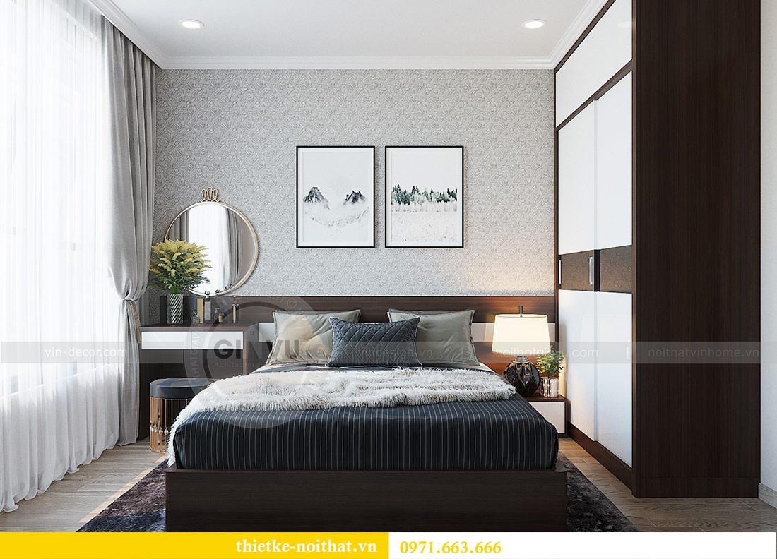 Thiết kế nội thất chung cư Dcapitale tòa C1 căn 01 - anh Nam 7