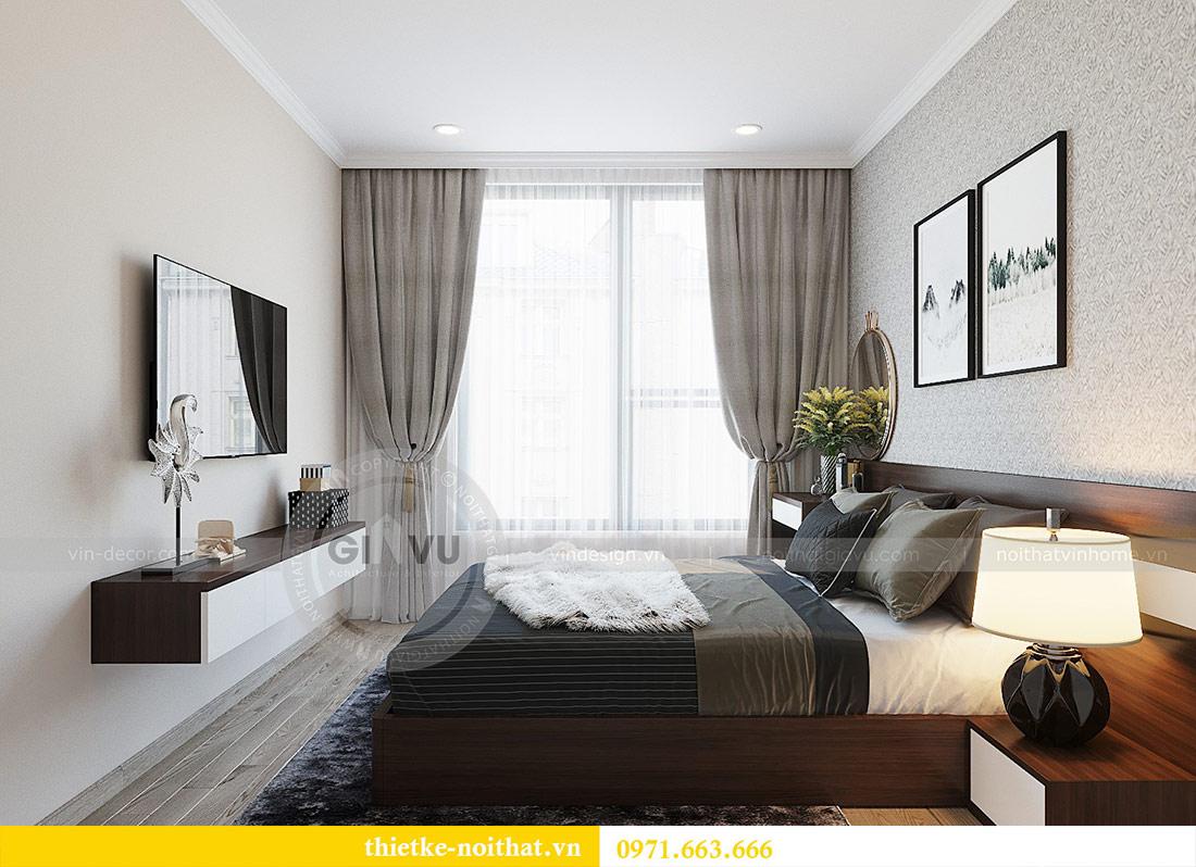Thiết kế nội thất chung cư Dcapitale tòa C1 căn 01 - anh Nam 8