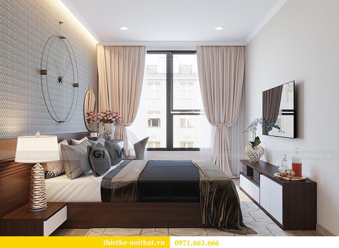 Thiết kế nội thất chung cư Dcapitale tòa C1 căn 01 - anh Nam 9