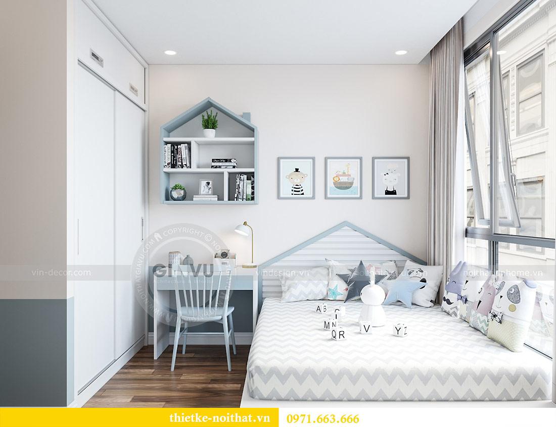Thiết kế nội thất Green Bay tòa G2 căn 05 - chị Trang 7