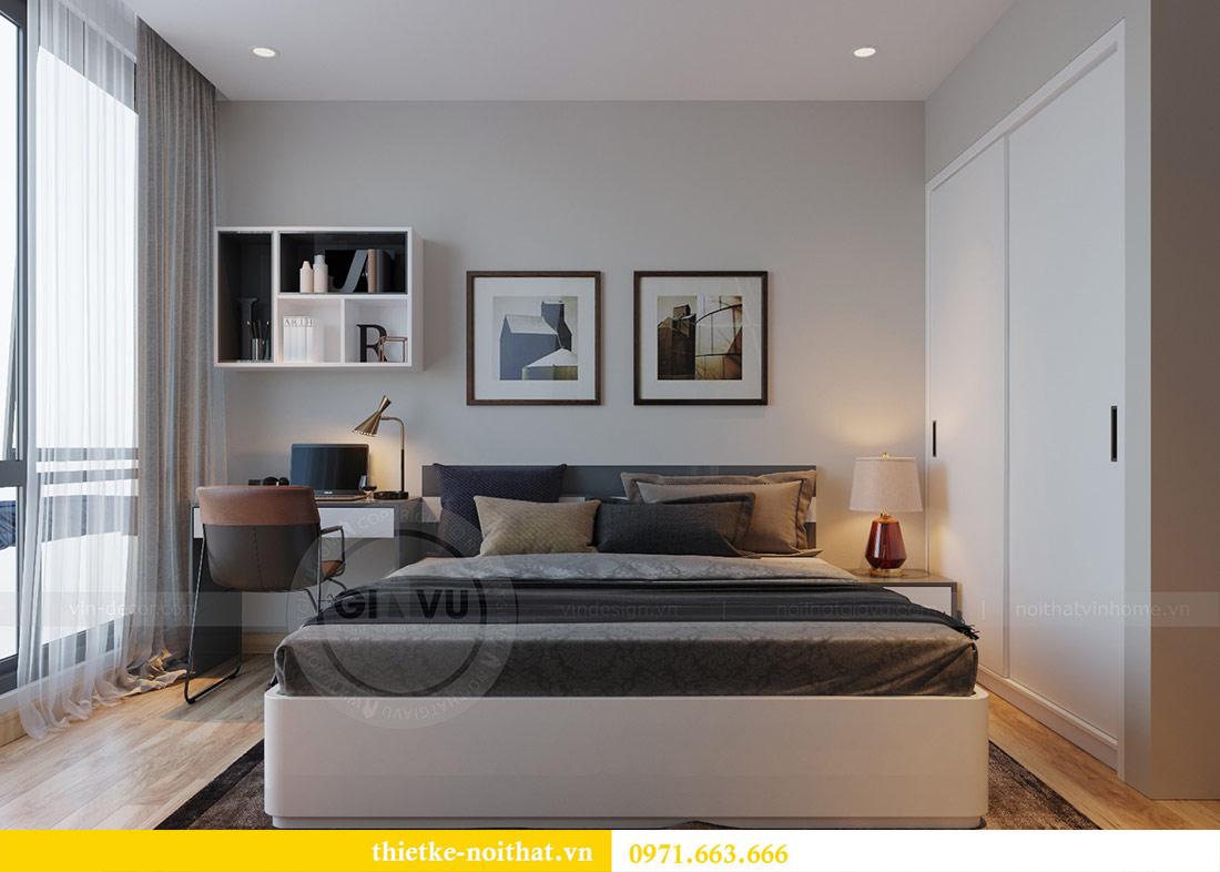 Thiết kế thi công nội thất căn hộ Metropolis tòa M3 09 - chú Hiệp 10