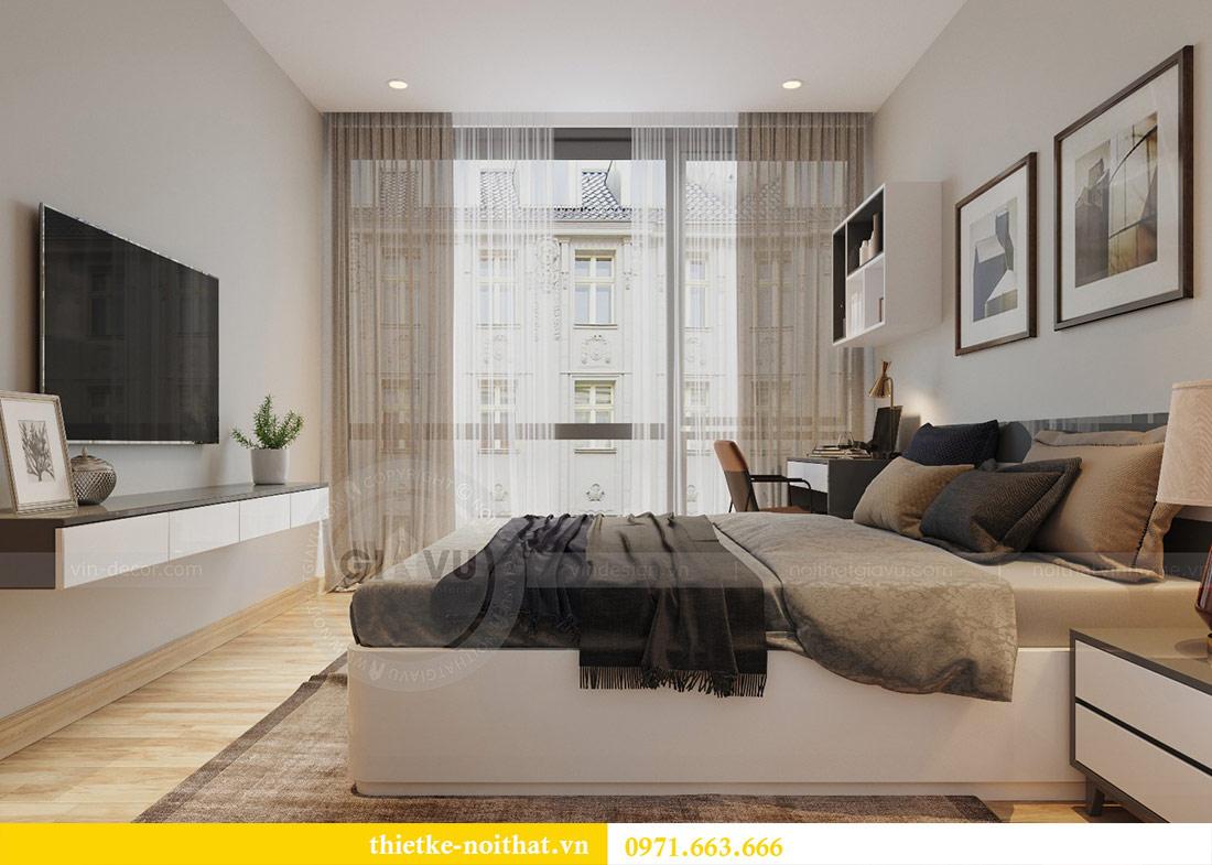 Thiết kế thi công nội thất căn hộ Metropolis tòa M3 09 - chú Hiệp 11